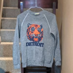 Vintage Detroit Tigers Crew Neck Sweater